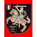 Magnet chevalier Charlemagne grand format