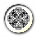Badge croix celtique A