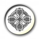 Badge croix celtique B