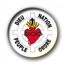 Badge Dieu - Nation - Ordre