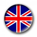 Badge drapeau anglais