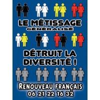 Autocollant Diversité