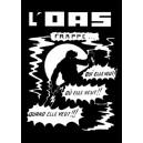 carte postale affiche de l'OAS