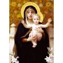 carte postale la Vierge aux ys