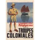 carte postale - coloniales (jonque)