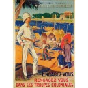 carte postale - coloniale