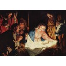 carte postale - l'Adoration