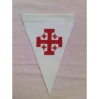 Fanion croix de Jérusalem