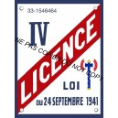 Autocollant - Licence IV