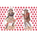 Carte postale - Charette
