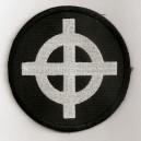 écusson noir croix celtique