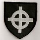 Ecusson noir croix celtique (blason)