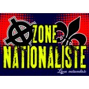 100 autocollants zone natio