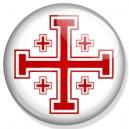 Badge croix de Jérusalem
