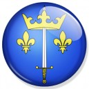 Badge Jeanne d'Arc